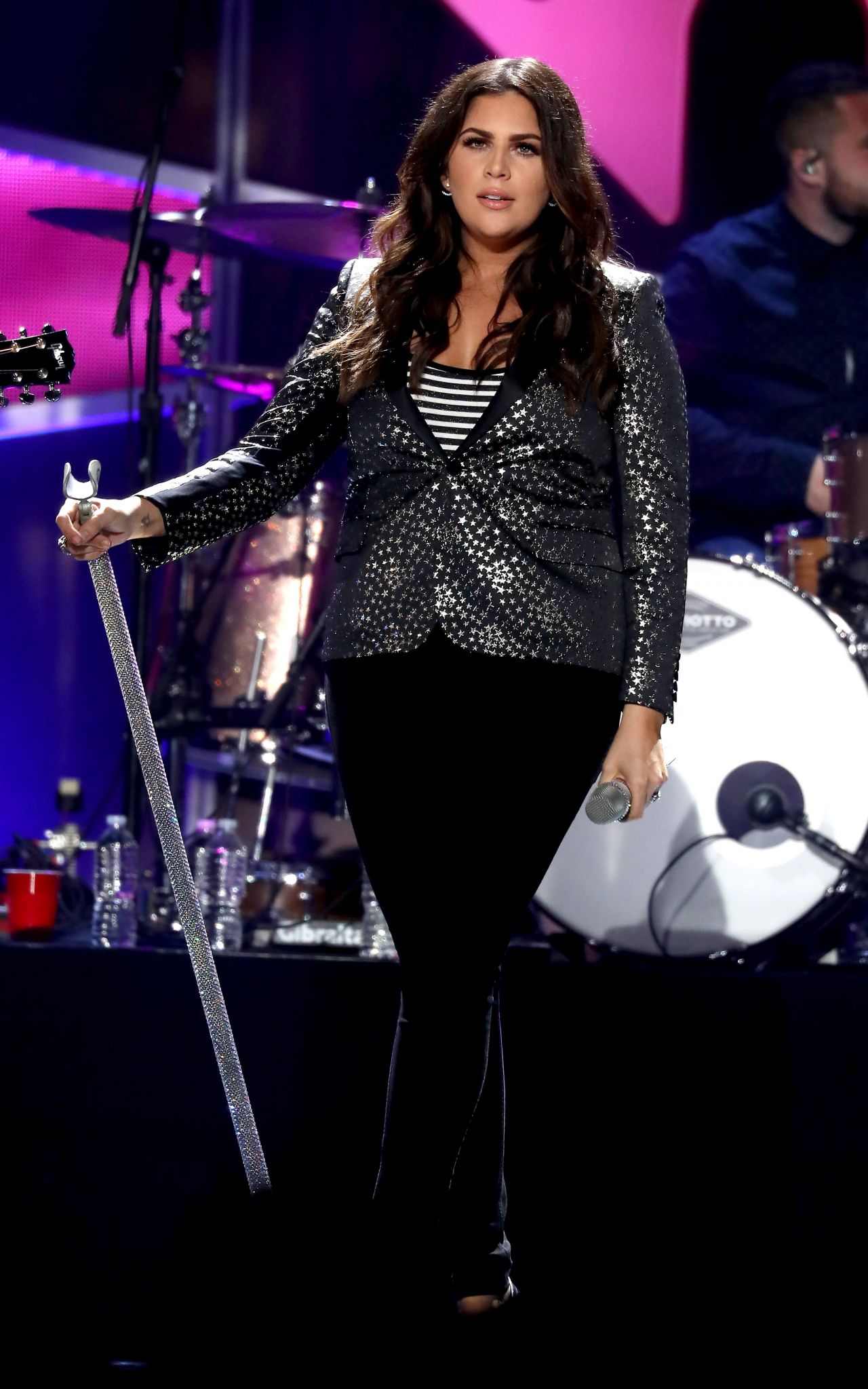 Hillary Scott Performs At Iheartcountry Music Festival In