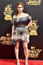 Holland Roden – MTV Movie and TV Awards in Los Angeles 05/07/2017