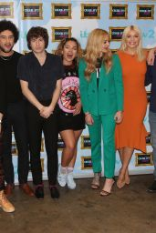 Holly Willoughby & Ferne Cotton - Celebrity Juice Show Filming, Herts 05/17/2017