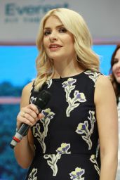Holly Willoughby - This Morning Live Event in Birmingham, UK 05/19/2017