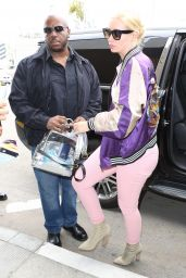 Iggy Azalea in Travel Outfit at LAX Airport in Los Angeles 05/25/2017