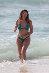 Imogen Thomas in Bikini at the Beach in Spain 05/07/2017
