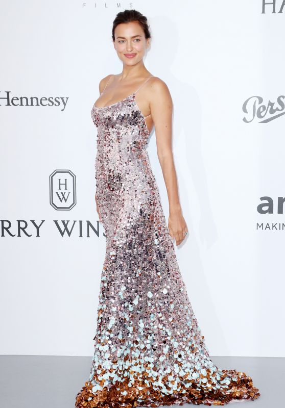 Irina Shayk – AmfAR's 24th Cinema Against AIDS Gala – Cannes Film Festival 05/25/2017