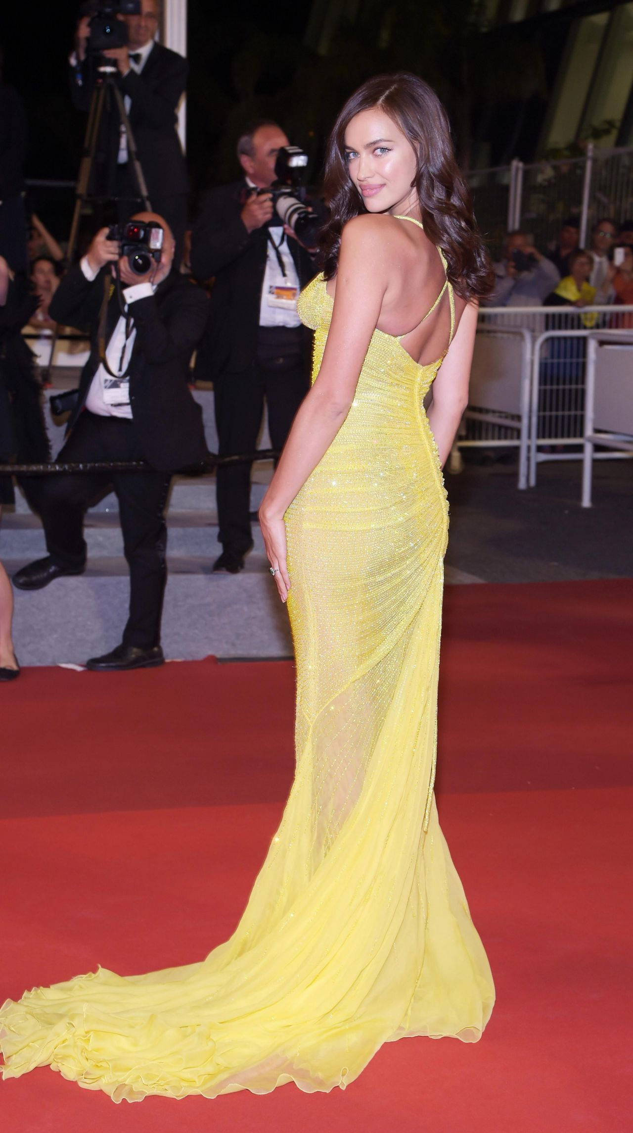 "Cannes 2017 Heidi Klum Continues A Cannes Tradition In: ""Hikari"" Premiere At Cannes Film Festival 05"