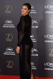 Irina Shayk on Red Carpet - L'Oreal 20th Anniversary Party in Cannes 05/24/2017