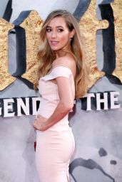 "Jacqui Ainsley - ""King Arthur: Legend of the Sword"" Premiere in London 05/10/2017"
