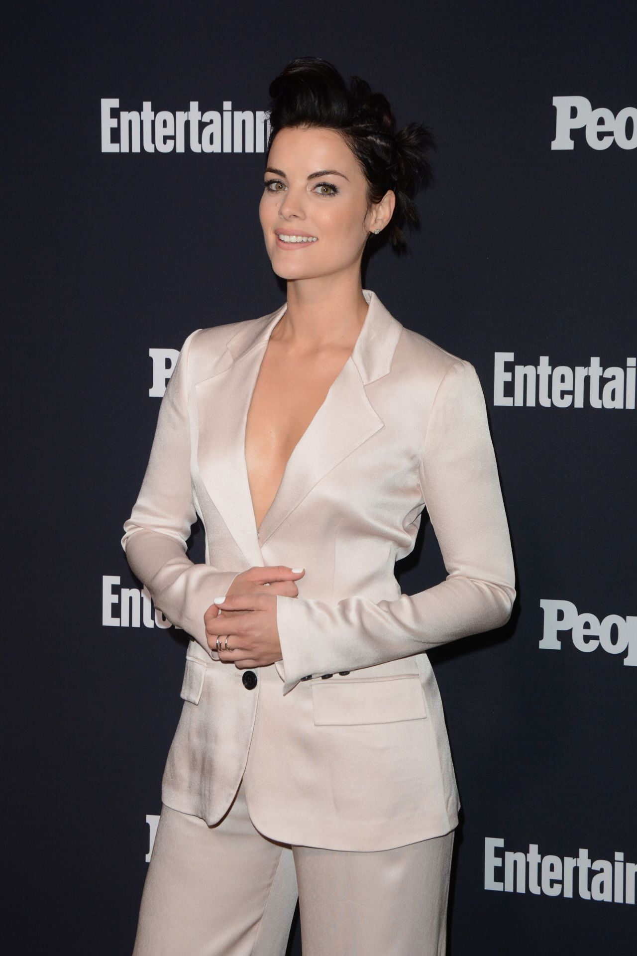 Jaimie Alexander Ew And People Upfronts Party In Nyc 05