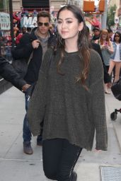 Jasmine Thompson at AOL Build Series in NYC 05/23/2017