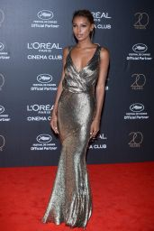 Jasmine Tookes at L'Oreal 20th Anniversary Party – Cannes Film Festival 05/24/2017