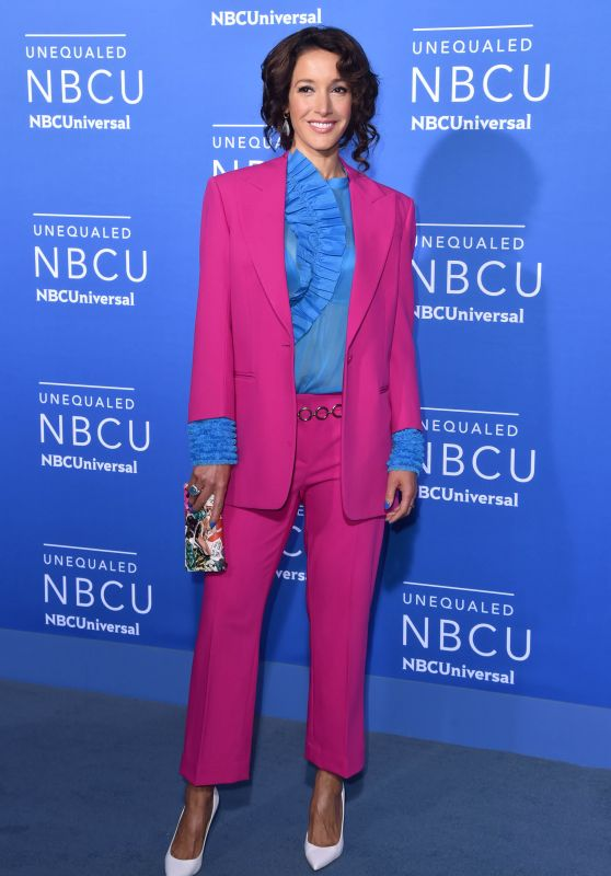 Jennifer Beals – NBCUniversal Upfront in NYC 05/15/2017