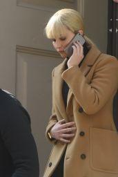 Jennifer Lawrence on the Phone, London, UK 05/07/2017