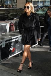 Jennifer Lopez - Arrives to NBC
