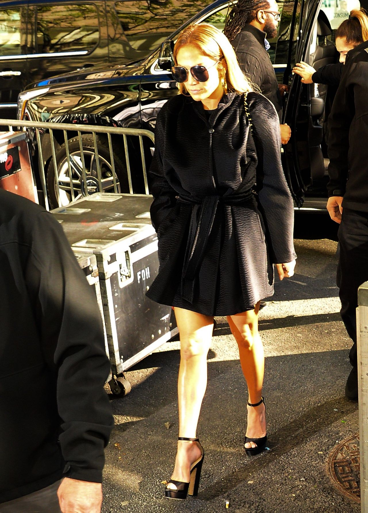 Jennifer lopez arrives to nbcs today show in new york city new images