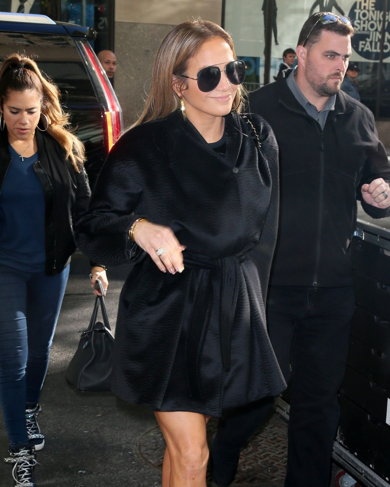 Watch Jennifer lopez arrives to nbcs today show in new york city video