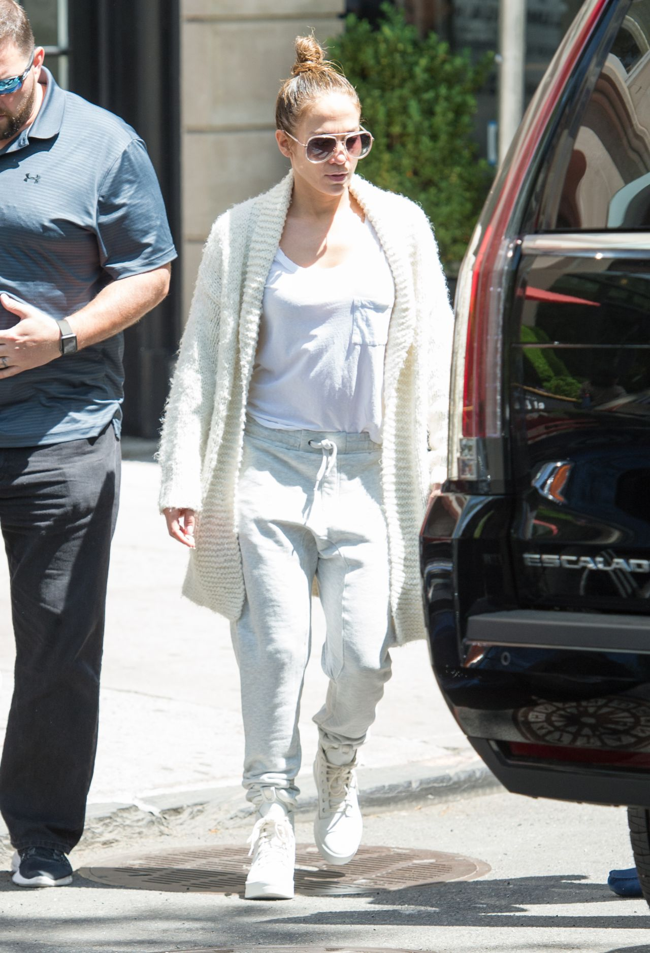 Jennifer Lopez In Casual Attire Out In New York 05 04 2017