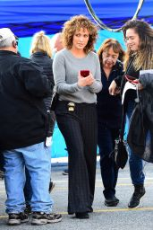 """Jennifer Lopez - On the Set of """"Shades of Blue"""" in New York 05/11/2017"""