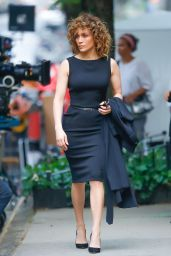 "Jennifer Lopez - ""Shades of Blue"" Set in New York 05/19/2017"