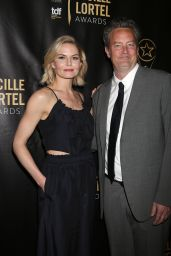 Jennifer Morrison and Matthew Perry - Lucille Lortel Awards in New York City 05/07/2017