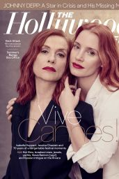 Jessica Chastain and Isabelle Huppert - The Hollywood Reporter May 2017 Issue