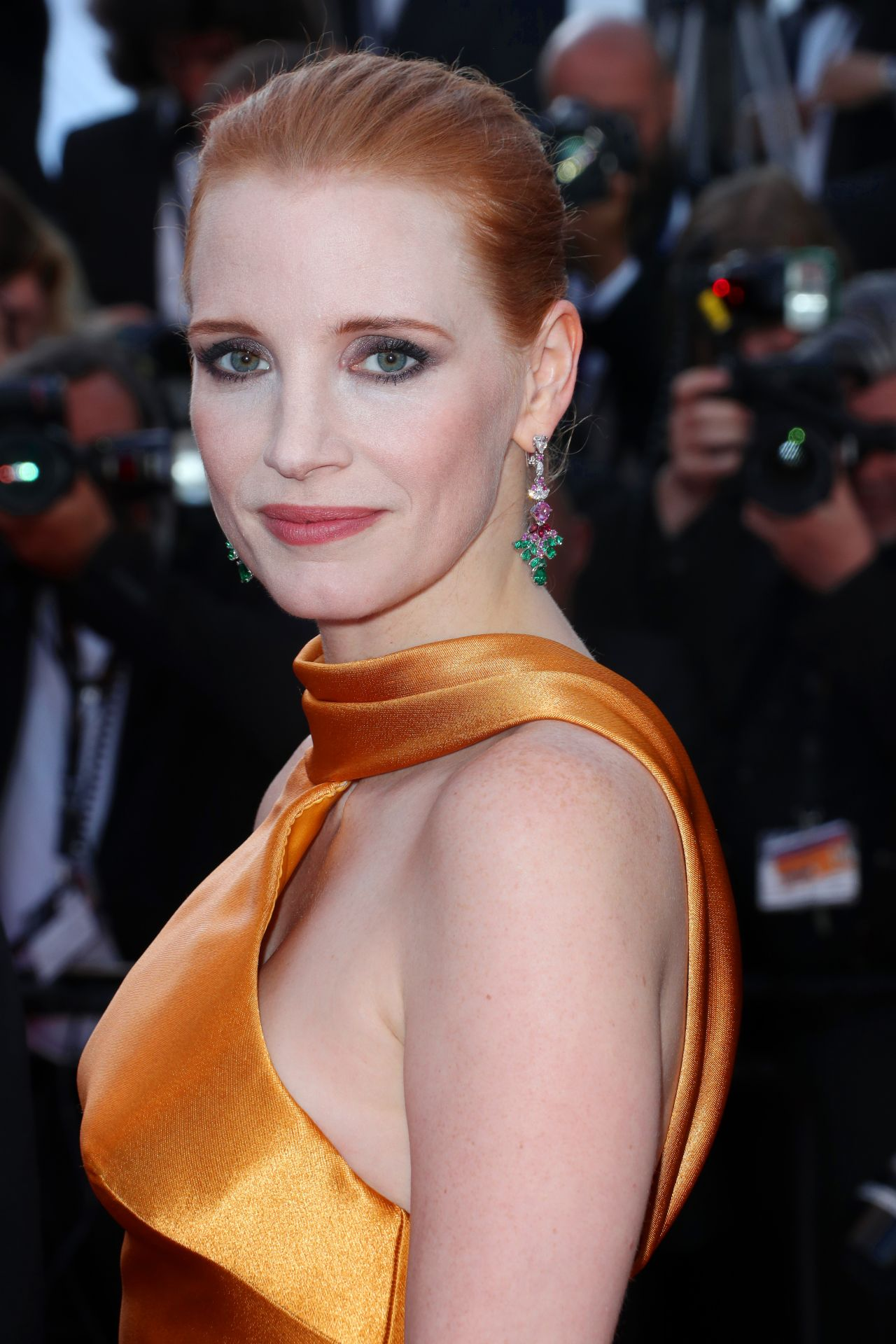 Jessica Chastain – Anniversary Soiree – Cannes Film ... Jessica Chastain