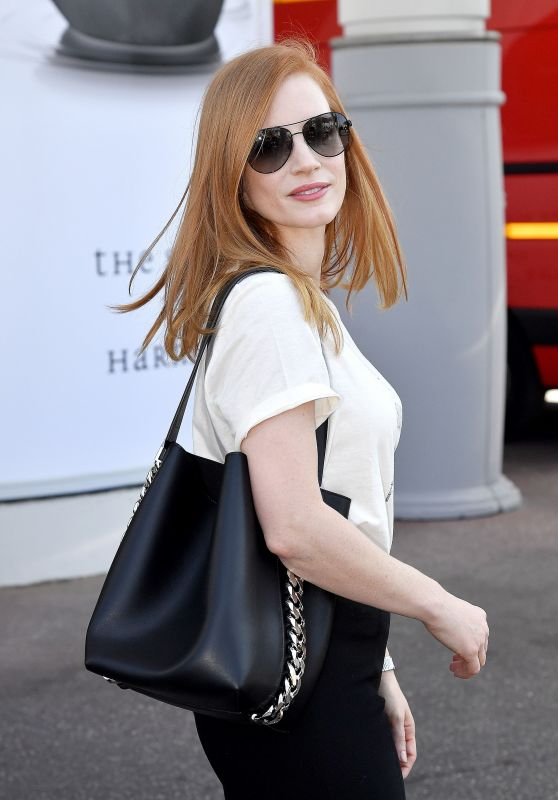Jessica Chastain at Hotel Martinez in Cannes 05/24/2017