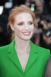 "Jessica Chastain at ""The Meyerowitz Stories"" Premiere – Cannes Film Festival 05/21/2017"