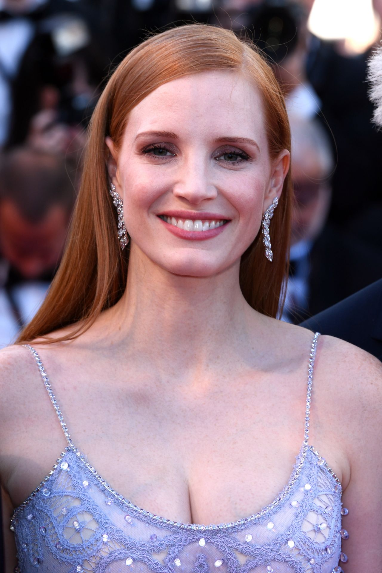 "Jessica Chastain – ""Okja"" premiere at Cannes Film Festival ... Jessica Chastain"