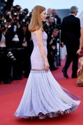 "Jessica Chastain – ""Okja"" premiere at Cannes Film Festival 05/19/2017"
