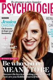 Jessica Chastain - Psychologies July 2017 Issue