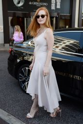 Jessica Chastain Style and Fashion Inspirations - Cannes 05/27/2017