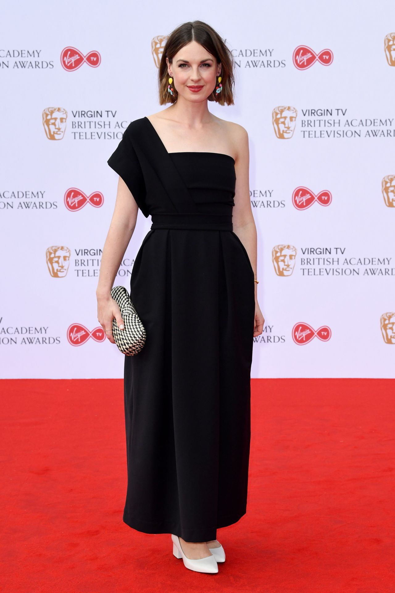 Jessica Raine On Red Carpet Bafta Tv Awards In London 05