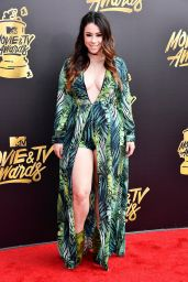 Jillian Rose Reed – MTV Movie and TV Awards in Los Angeles 05/07/2017