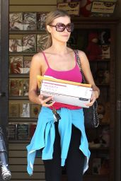 Joanna Krupa Street Style - Out in Los Angeles, May 2017