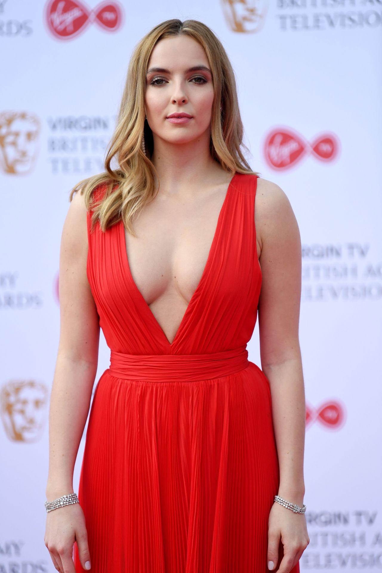 Jodie comer bafta television awards in london