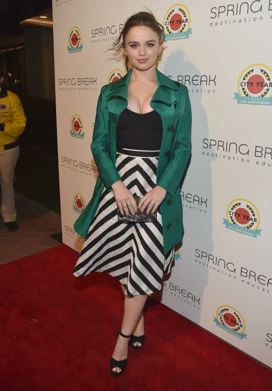 Joey King at the City Year L.A. Spring Break, California 05/06/2017