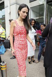 Jordana Brewster at The ITV Studios in Central London 05/31/2017