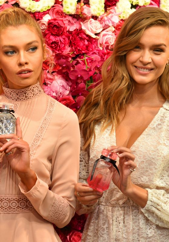 "Josephine Skriver & Stella Maxwell - VS Angels Celebrate the ""Bombshell"" Fragrance in NYC 05/10/2017"