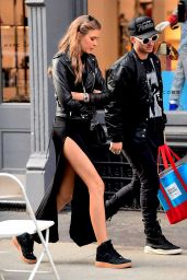 Josephine Skriver With Boyfriend Alexander Deleon in NYC 05/13/2017