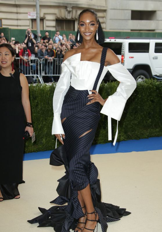 Jourdan Dunn at MET Costume Institute Gala in New York 05/01/2017
