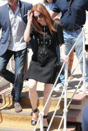 Julianne Moore at Promenade de la Croisette  in Cannes 05/17/2017