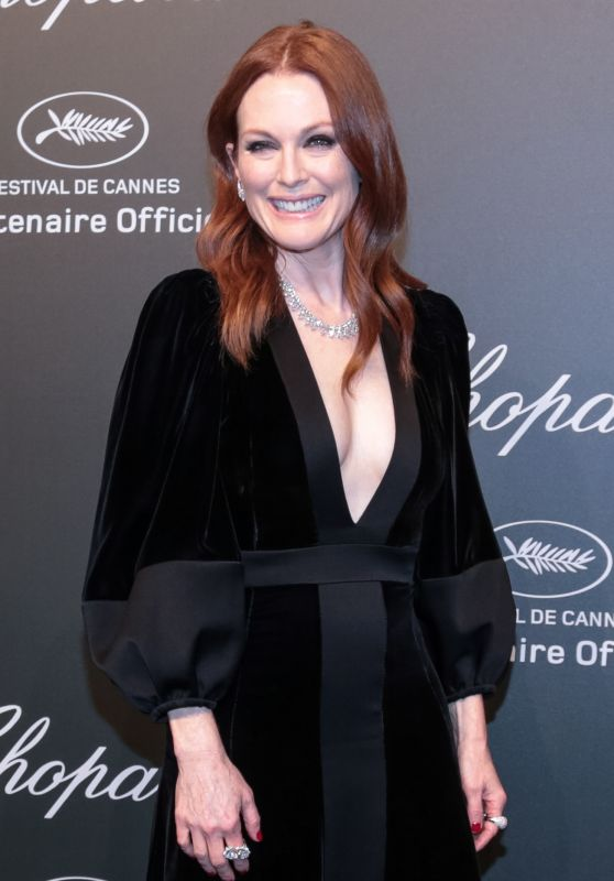 Julianne Moore - Chopard Space Party in Cannes, France 05/19/2017