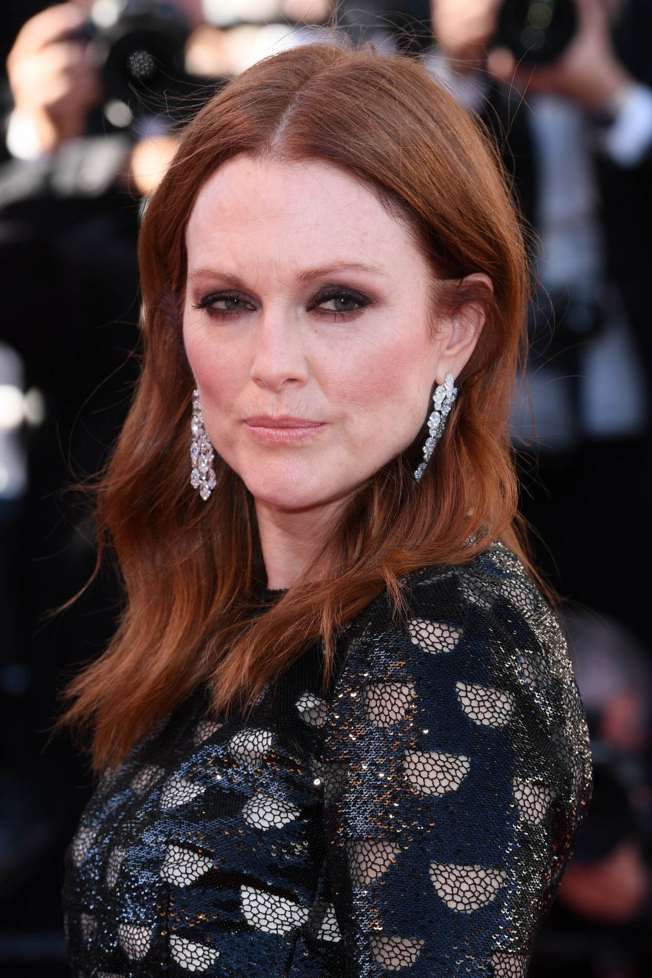 """Julianne Moore on Red Carpet – """"Okja"""" premiere at Cannes ..."""