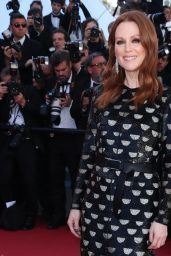 "Julianne Moore on Red Carpet – ""Okja"" premiere at Cannes Film Festival 05/19/2017"