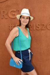 Julie De Bona – French Tennis Open at Roland-Garros Arena in Paris 05/30/2017