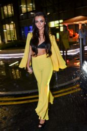 Kady McDermott Night Out - Leaving Menagerie Restaurant and Bar in Manchester 05/27/2017