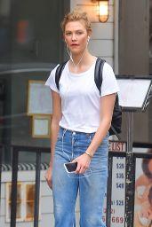 Karlie Kloss Casually Dressed - NYC 05/23/2017