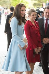 Kate Middleton  in Luxembourg - Outside the City Museum 05/11/2017