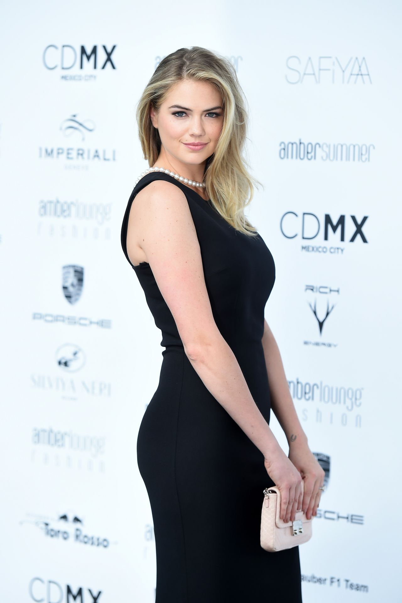 Kate Upton Sexy Black Gown