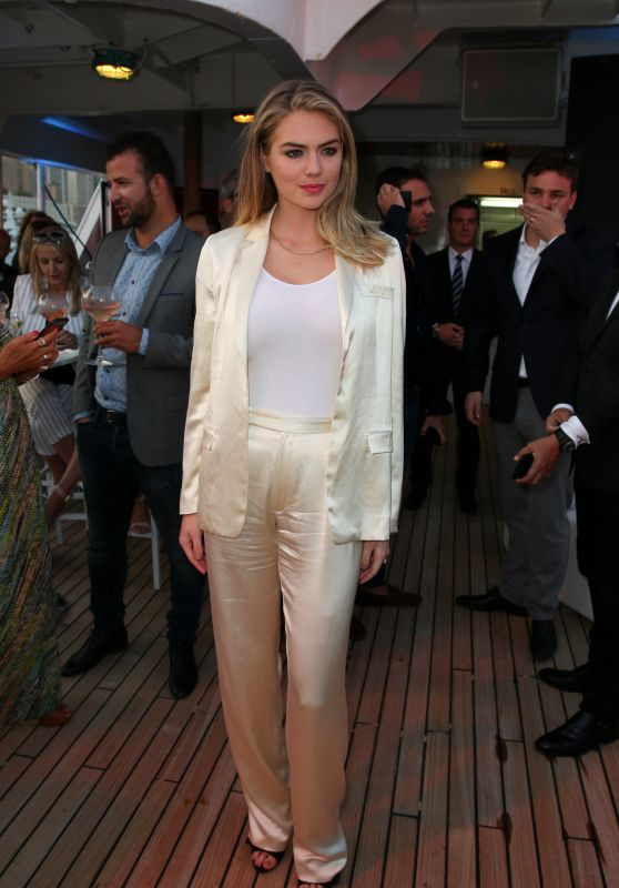 Kate Upton - Tag Heuer Yacht Party in Monaco 05/27/2017