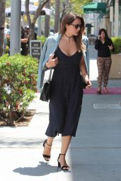 Katharine McPhee and Elyes Gabel - Romantic Lunch in the 90210, Beverly Hills 05/08/2017